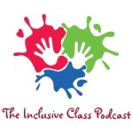 The inclusive class podcast logo copy